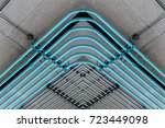 electricity  pipe line system... | Shutterstock . vector #723449098