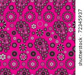 paisley seamless background | Shutterstock .eps vector #72345937