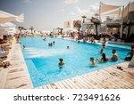 odessa  ukraine august 15  2015 ...   Shutterstock . vector #723491626