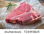 porterhouse steak | Shutterstock . vector #723493825