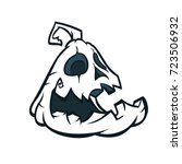 halloween pumpkin jack o'... | Shutterstock .eps vector #723506932