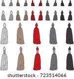 fashion elements  basic tassels ... | Shutterstock .eps vector #723514066