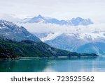 scenic landscape of the... | Shutterstock . vector #723525562
