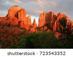 Cathedral Rock At Sunset ...