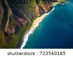 beautiful nature landscape in... | Shutterstock . vector #723560185