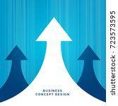 business concept leadership... | Shutterstock .eps vector #723573595