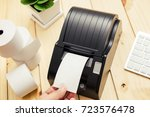 office equipment  a point of... | Shutterstock . vector #723576478