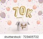 70k  70000 followers thank you... | Shutterstock . vector #723605722