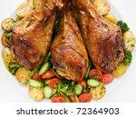 Roasted Turkey Legs With...