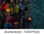 haridwar  india   march 20 ...   Shutterstock . vector #723679102