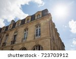 view of buildings in france... | Shutterstock . vector #723703912