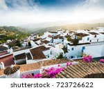 traditional village of... | Shutterstock . vector #723726622