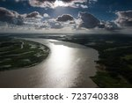 the helicopter shot from dhaka  ...   Shutterstock . vector #723740338