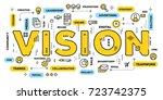 vector creative illustration of ... | Shutterstock .eps vector #723742375