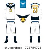 basketball jersey  shorts ... | Shutterstock .eps vector #723754726