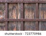 Close Up Of Old Wooden Door...