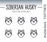 Cute Siberian Husky Dog Breed...