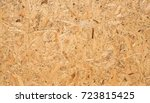 osb boards are made of brown... | Shutterstock . vector #723815425
