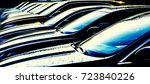 luxury modern cars for sale... | Shutterstock . vector #723840226