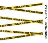 Yellow Tape With Police Line D...