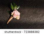 wedding setup | Shutterstock . vector #723888382