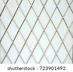 steel plate steel grid texture... | Shutterstock . vector #723901492