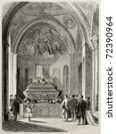 Old Illustration Daniele Manns Grave - Fine Art prints