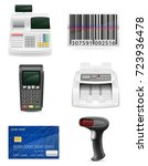 trading banking equipment for a ...   Shutterstock .eps vector #723936478