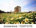 europe  greece  athens  zeus... | Shutterstock . vector #723971755