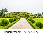 mahasthangarh is one of the... | Shutterstock . vector #723973822