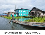 inle lake   myanmar   sep 07  ... | Shutterstock . vector #723979972