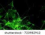 abstract technology and future... | Shutterstock . vector #723982912