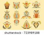 flower elements | Shutterstock .eps vector #723989188