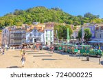 sintra  portugal   august 8 ... | Shutterstock . vector #724000225