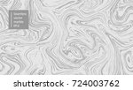 seamless abstract marble... | Shutterstock .eps vector #724003762