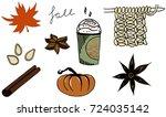 Fall Autumn Illustration Set ...