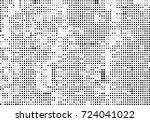 halftone black and white.... | Shutterstock .eps vector #724041022