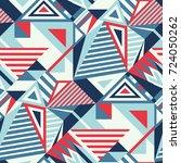 seamless abstract vector... | Shutterstock .eps vector #724050262
