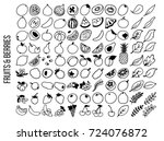 vector illustration of isolated ... | Shutterstock .eps vector #724076872