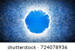 light blue background with... | Shutterstock . vector #724078936