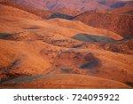 boise  idaho foothills in autumn | Shutterstock . vector #724095922
