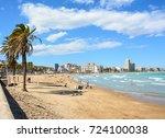 pe iscola   spain  september 15 ... | Shutterstock . vector #724100038