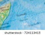 somali basin | Shutterstock . vector #724113415