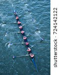 crew team in competition | Shutterstock . vector #724142122