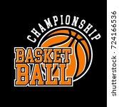basketball badge logo yellow... | Shutterstock .eps vector #724166536