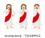 omg jesus is facepalm. oh my... | Shutterstock .eps vector #724189912