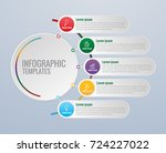 infographics design and... | Shutterstock .eps vector #724227022