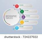 infographics design and... | Shutterstock .eps vector #724227022