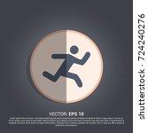 simple running icon