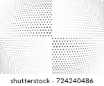 abstract halftone wave dotted... | Shutterstock .eps vector #724240486